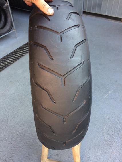 Pneu Traseiro 180/65/16 Dunlop Faixa Branca Haley Usado Bom