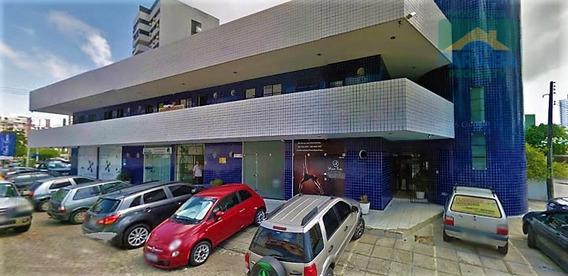 Sala Comercial Para Locação - Praia De Tambaú - João Pessoa - Pb - Sa0036