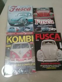 Lote C/ 2 Revistas E 2 Guias Com 236 Pg E 128 Pg Fusca E Kom