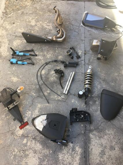 Peças Kawasaki Zx6r - Venda Em Conjunto Ou Separadas