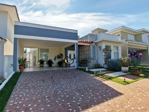 Casa Com 4 Dormitórios À Venda, 232 M² Por R$ 1.270.000 - Residencial Villa Lobos - Paulínia/sp - Ca1038