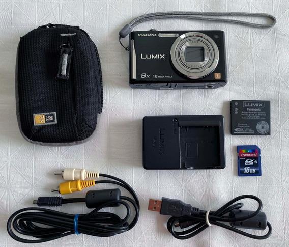 Câmera Panasonic Lumix Dmc-fh25 16mpx 8x - R$99 À Vista