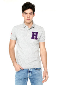 Wcc Structured Badge Slim Polo - Tommy Hilfiger - 1218688