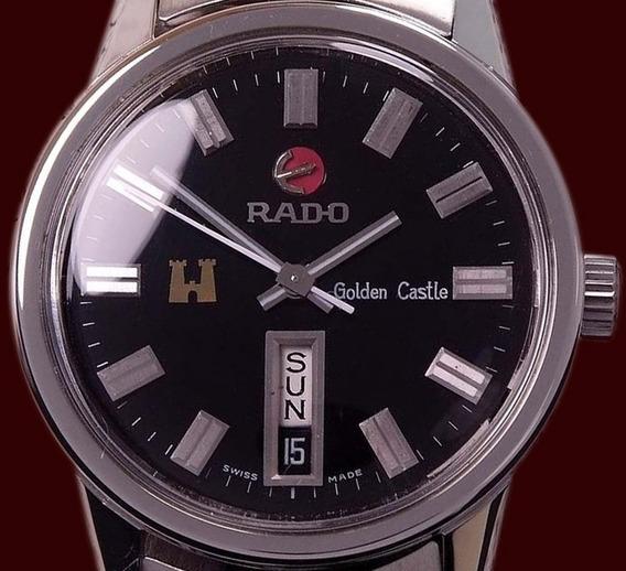 Reloj Rado Golden Castle-day Date Automático 25 Joyas