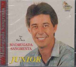 Cd Júnior - Madrugada Sangrenta / Bônus Playback