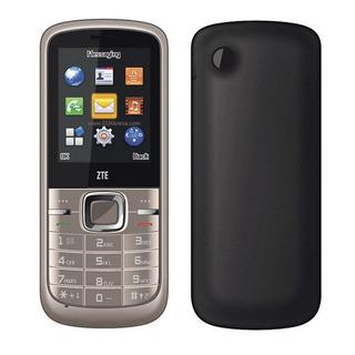 Celular Zte R228 2g 1.3mp Mp3 Fm Dual Sim, Dourado Vitrine 1
