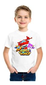 Playera Super Wings Personalizada Serie Caricatura Aviones 2