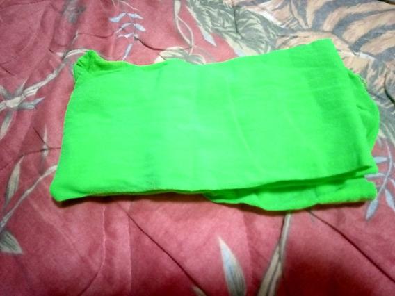 Pantimedia Color Verde Fluorescente