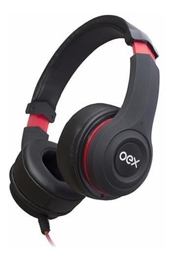 Headset Smooth Com Microfone E Controle De Volume Oex Hs204