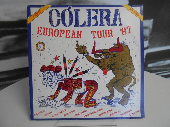 Lp Cólera - Live ´european Tour 87
