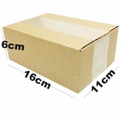 Caixas De Papelao Para Envio Correios 16x11x6 Cm - 100 Und