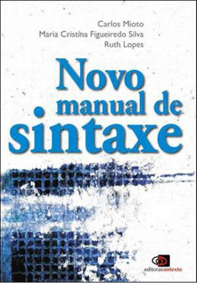 Novo Manual De Sintaxe