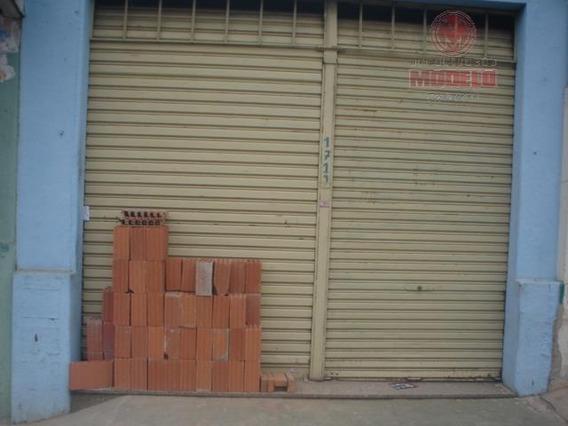 Salão Para Alugar, 100 M² Por R$ 900,00/mês - Centro - Piracicaba/sp - Sl0020