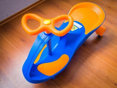 Imagen 1 de 10 de Carrito Montable Swingcar Plasmacar Gogó - Llantas Luminosas
