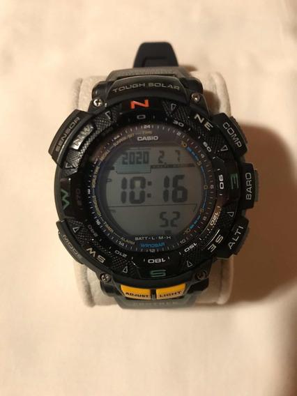 Relógio Casio Protrek Triplo Sensor