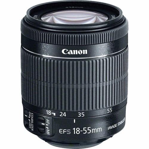 Lente Canon Ef-s 18-55mm F/3.5-5.6 Is Stm 12x S/juros