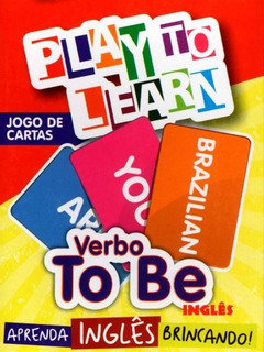 Play To Learn - Verbo To Be - Jogo De Cartas - Play To Learn