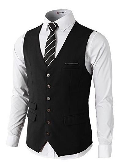 H2h - Vestido Para Hombre Formal, Ajustado, De Alta Calidad,