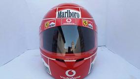 Capacete Michael Schumacher Temporada 2005 Casco Fly