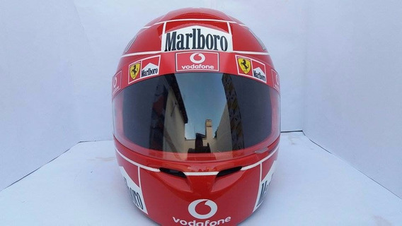 Capacete Michael Schumacher Temporada 2005 Casco Fly
