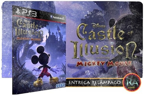 Castle Of Illusion Starring Mickey Mouse Ps3 Psn M.d