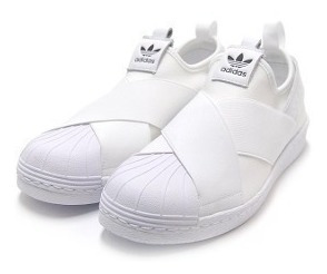 Tenis adidas Slip On Branco Unissex Original