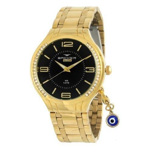 Relógio Backer Feminino Gluck 10603145f Original Barato