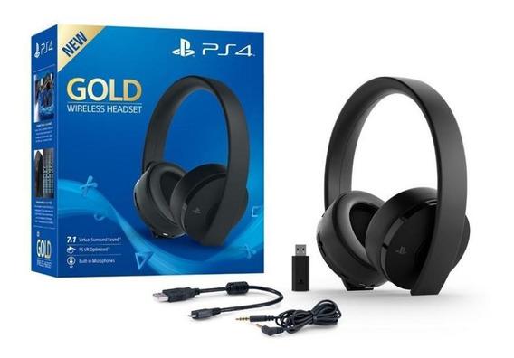 Fone De Ouvido Playstation Gold Series (wireless Headset)