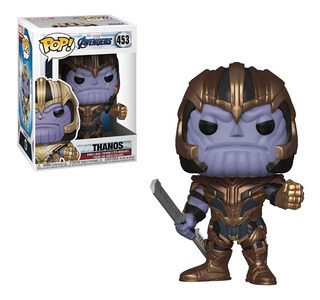 Funko Pop Marvel Thanos Avengers Endgame Original 453