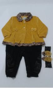 Macacao Longo Plush / Algodão Baby Chic