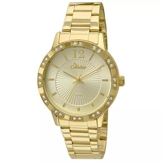 Relógio Feminino Condor Co2035kmn/4d Dourado Original