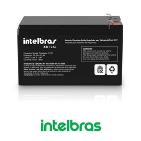Bateria Para Central Alarme Intelbras 12v Xb 12al