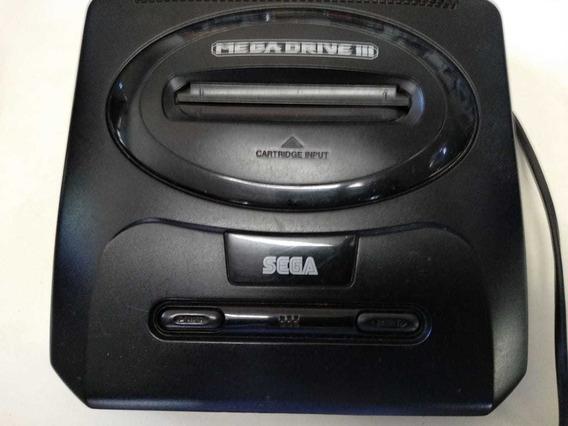 Mega Drive 3 Usado Apenas O Console
