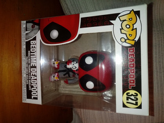 Funko Pop Bedtime Deadpool Bobble Head Original Abierto