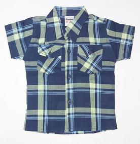 0d7492c7c Camisa Xadrez Infantil Menina - Camisa Manga Curta no Mercado Livre ...