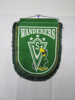 Banderín Santiago Wanderers De Valparaiso