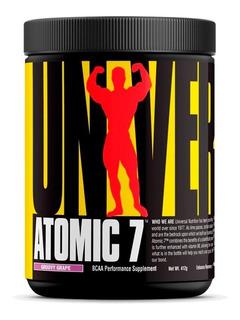 Atomic 7 - Bcaa Pré Treino Glutamina - Universal Val: 08/19