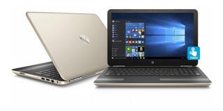 Hp Pavilion 15-au030wm 15.6 Manhattan Gold Laptop, Touch Sc
