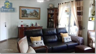 Apartamento Com 3 Dormitórios - Sacada Gourmet - 3 Vagas De Garagens - Para Venda Na Vila Bastos. - Ap5472
