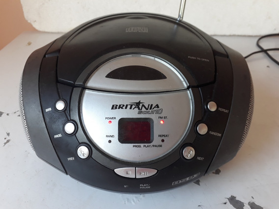 Rádio Portátil Britânia Bs93