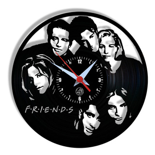 Relógio De Parede Vinil - Friends Séries Tv
