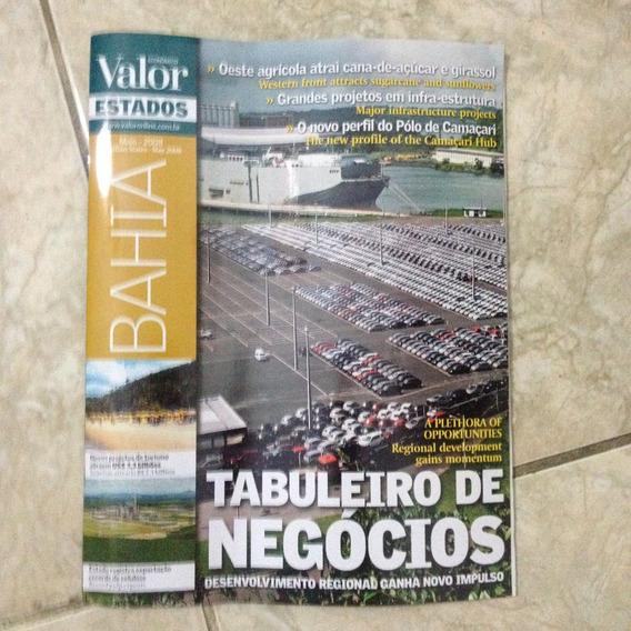 Valor Econômico Bahia Maio 2008 Tabuleiro De Negócios C2