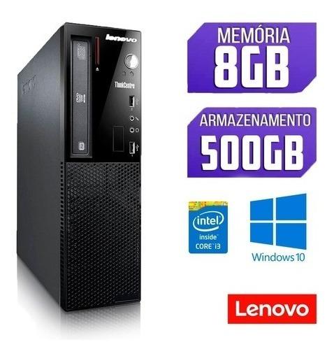 Computador I3 3º - 8gb De Ram - 500gb De Hd - Windows 10 Oem