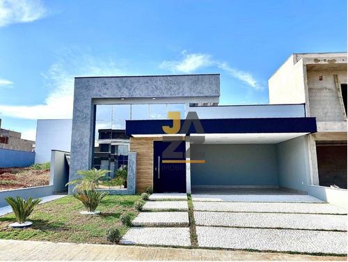 Casa Com 3 Dormitórios (suites) À Venda, 187 M² Por R$ 1.250.000 - Jardim Esplanada - Indaiatuba/sp - Ca13375