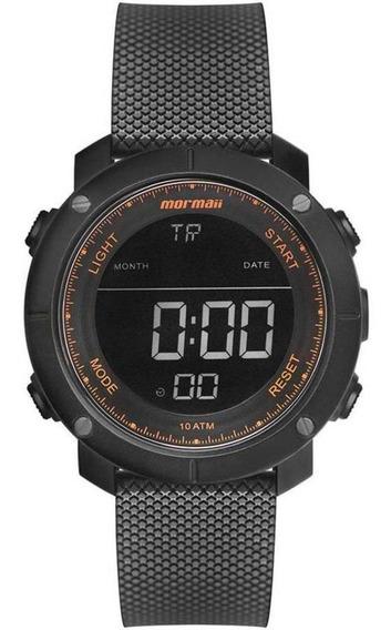 Relógio Mormaii Masculino Ref Mo0700ac 8l Digital Wave Preto