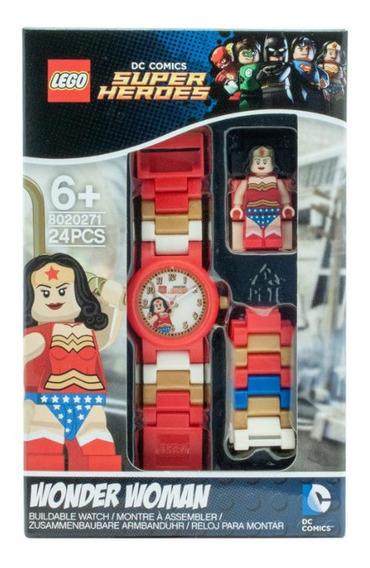 Relógio Lego Mulher Maravilha