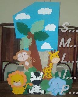 Piñatas Entamboradas Y De Números. Fiestas Infantiles