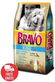 Bravo Baby 20kg Ração Premium Com 29% Proteína P/filhote