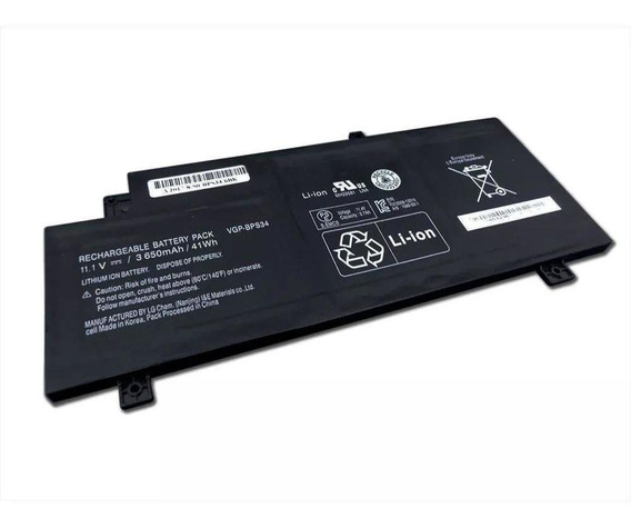 Bateria Notebook Sony Vaio Bps34 Vgp-bps34 Svd-14aa1qx