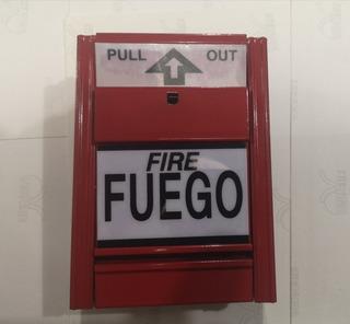 Pulsador Palanca Manual Fuego